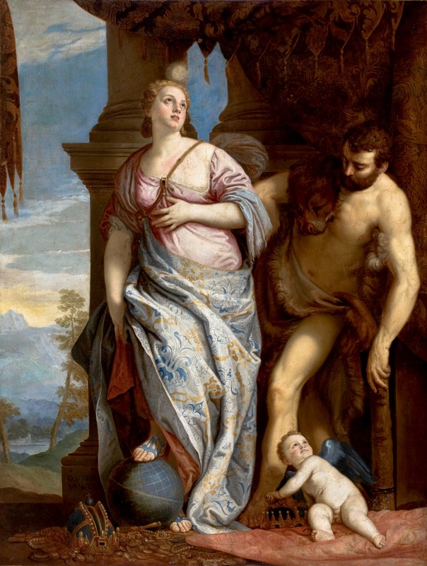 Allegory of Wisdom and Strength (after Veronese), 1752 Francois Boucher